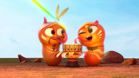 觀賞芒果的父母。第 2 季第 9 集。